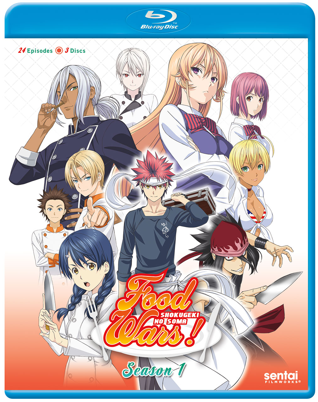 Food Wars! Blu-Ray 816726027906