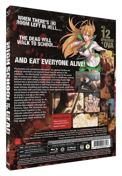 High School of the Dead Steelbook Blu-ray
