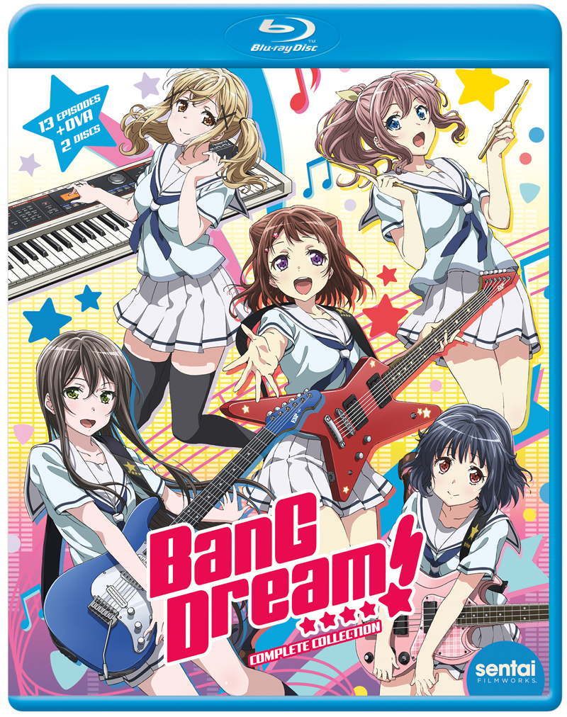 BanG Dream! Blu-ray 816726028613