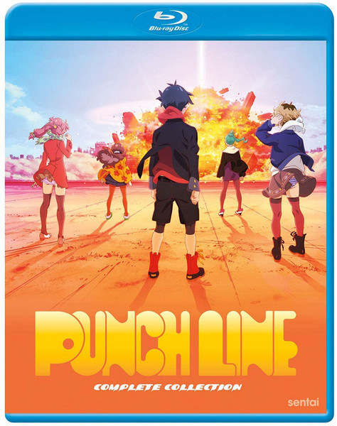 Punch Line Blu-ray