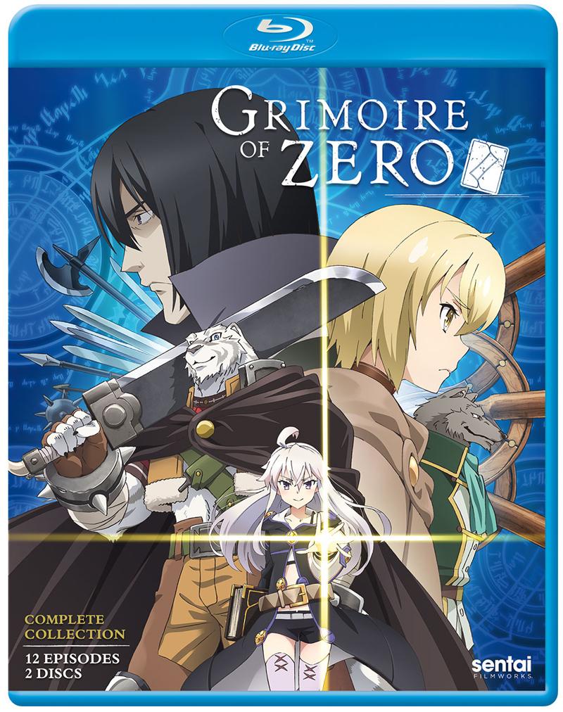Grimoire of Zero Blu-ray 816726028712