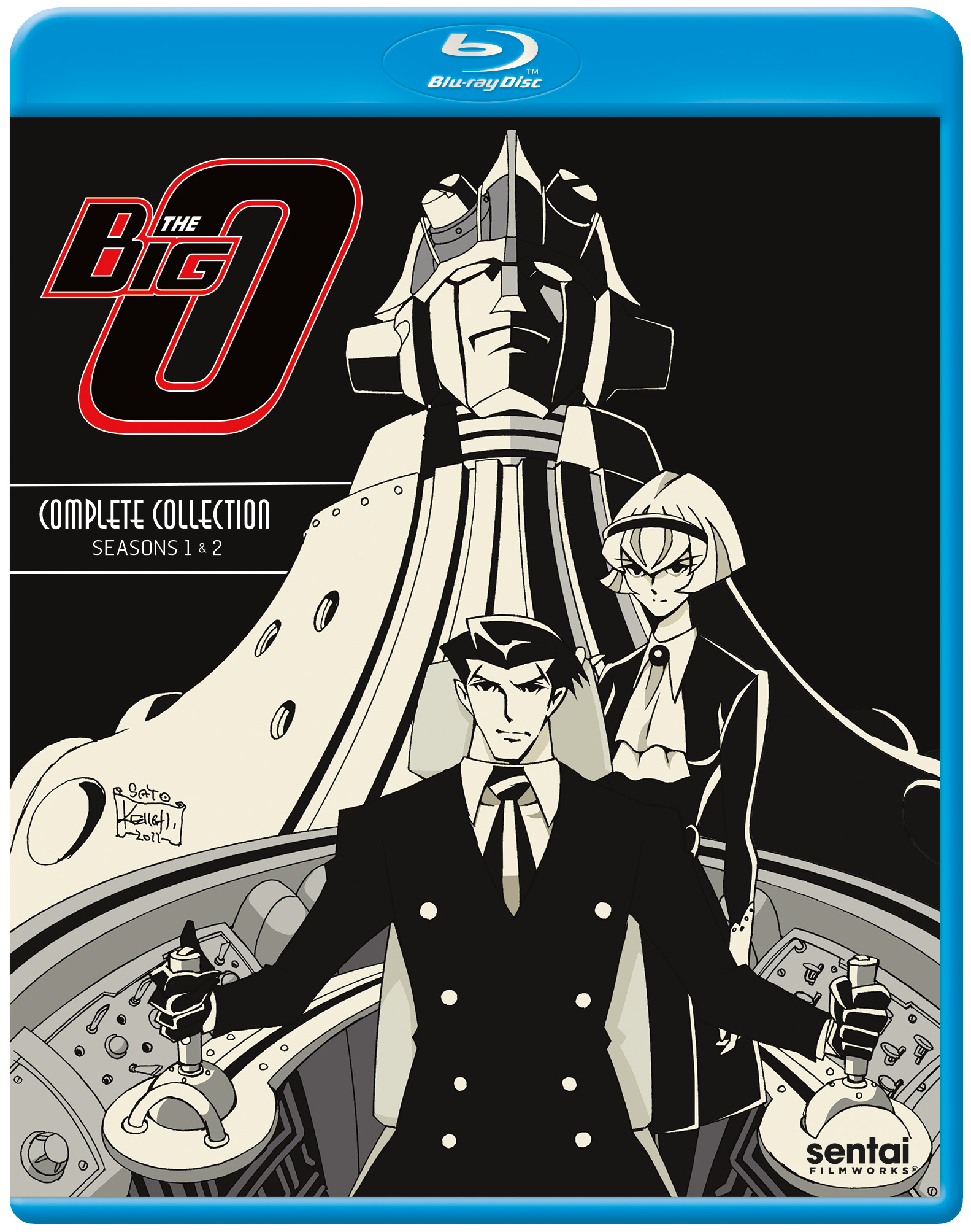 The Big O Blu-ray 816726029009
