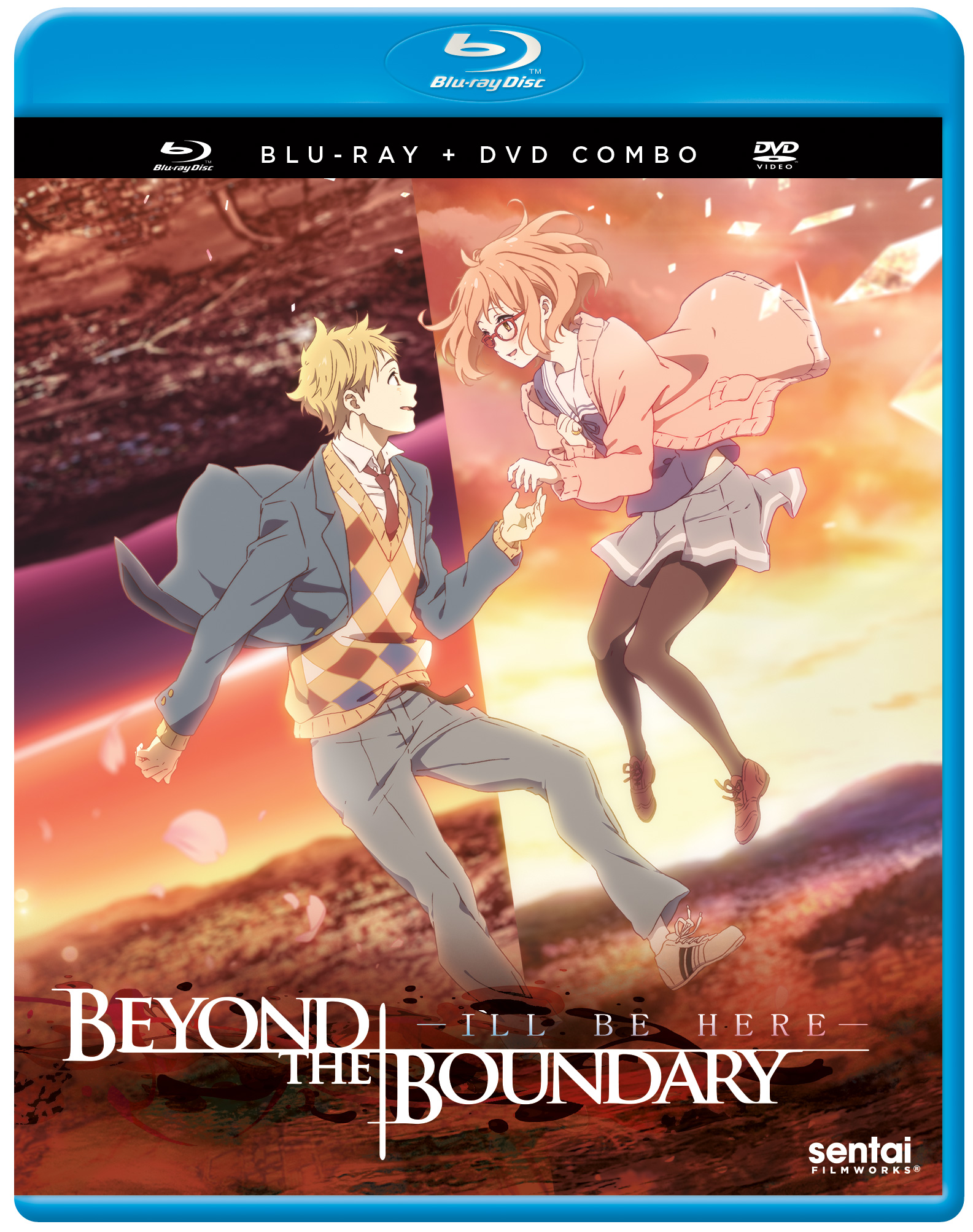 Beyond the Boundary I'LL BE HERE Blu-ray/DVD 816726029306
