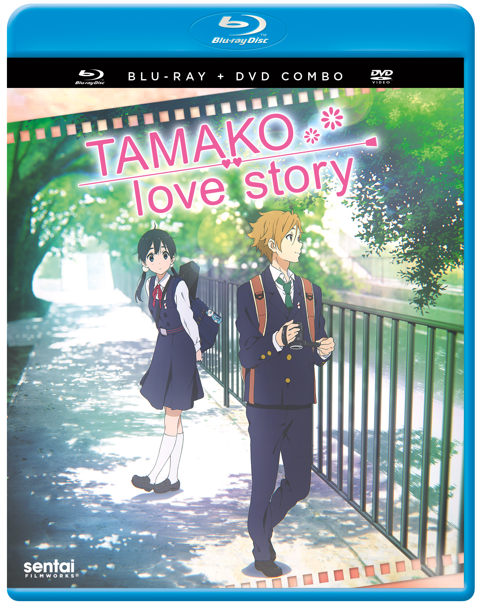 Tamako Love Story Blu-Ray/DVD 816726029405
