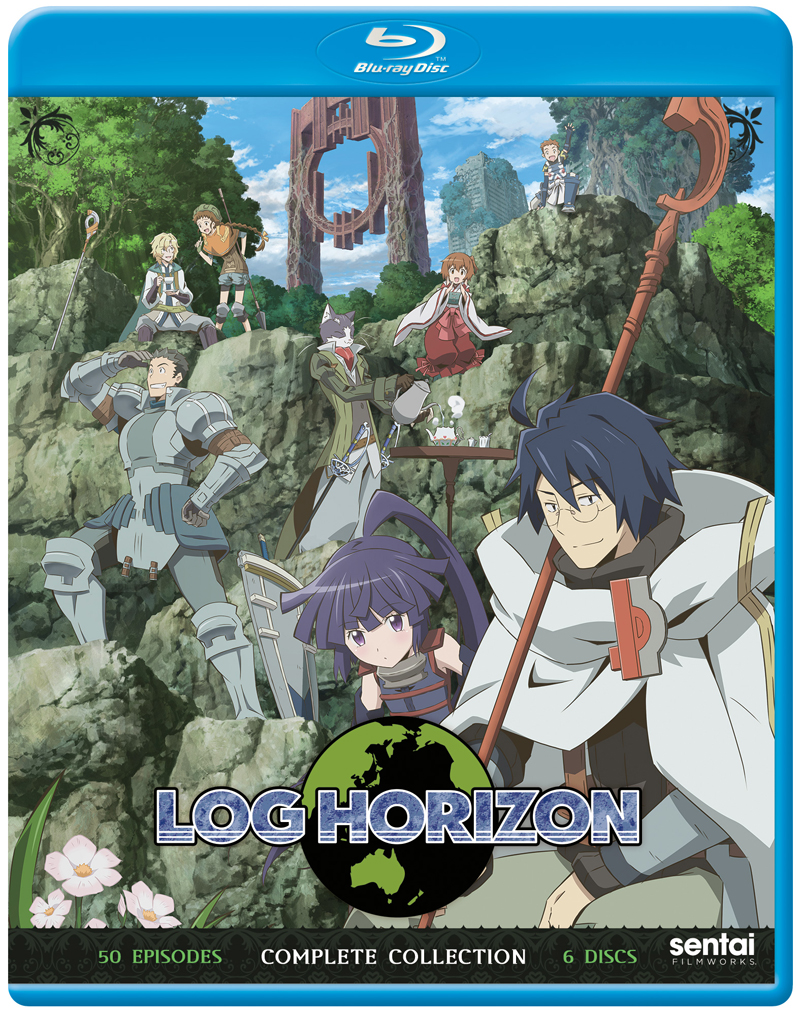 Log Horizon Complete Collection Blu-Ray 816726029702