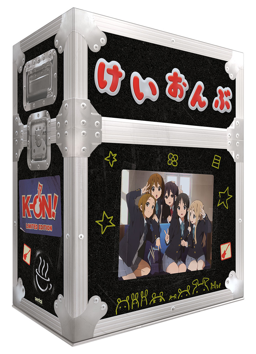 K-ON Complete Collection Premium Box Set Blu-ray 816726029719