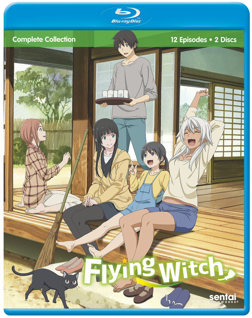Flying Witch Blu-Ray 816726029900