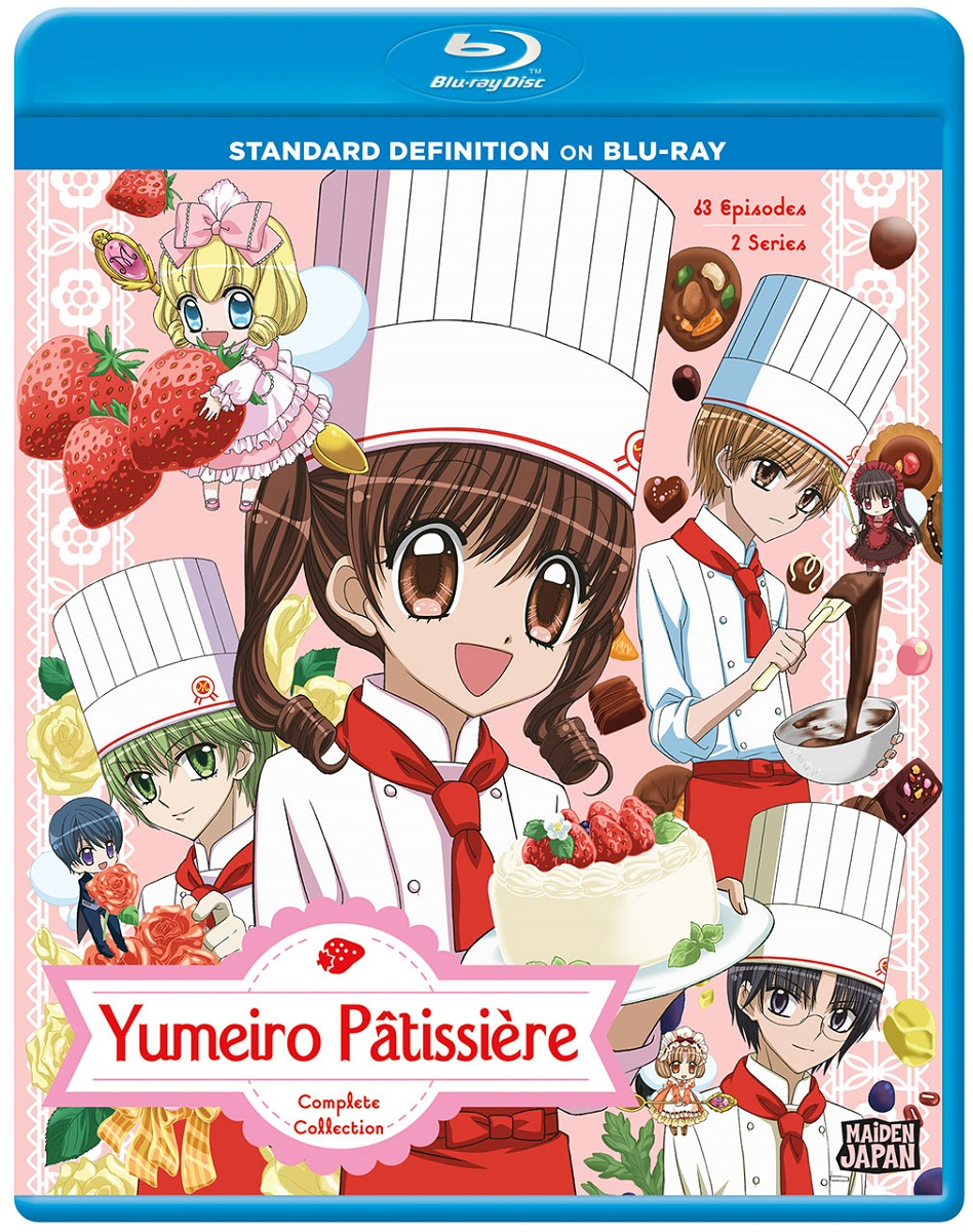 Yumeiro Patissiere Complete Collection Blu-ray