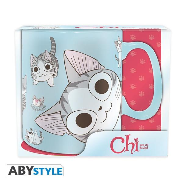 Kitty Poses Chi's Sweet Home Mug