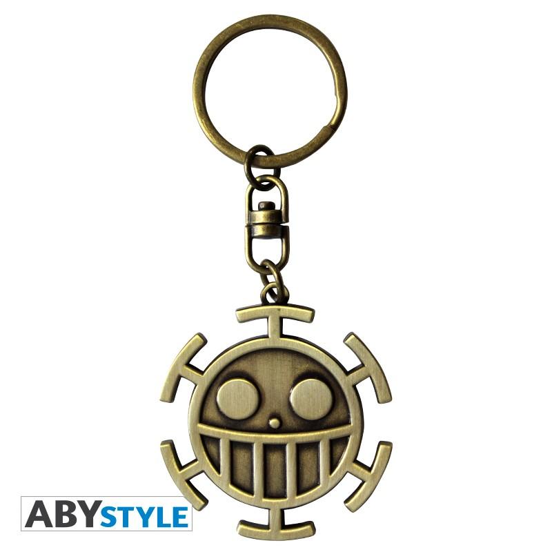 Trafalgar Law Jolly Roger One Piece Metal Keychain