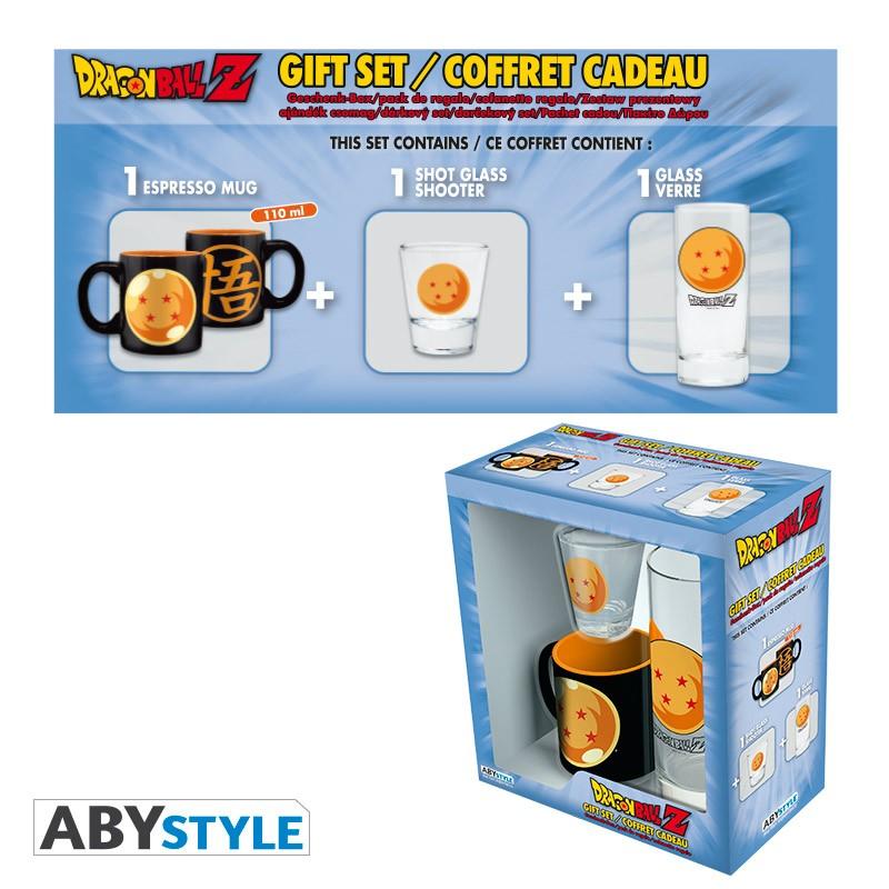 3-Piece Drinkware Dragon Ball Z Gift Set