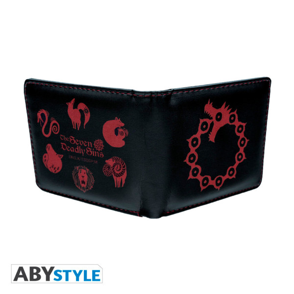 The Seven Deadly Sins Wallet & Keychain Gift Set