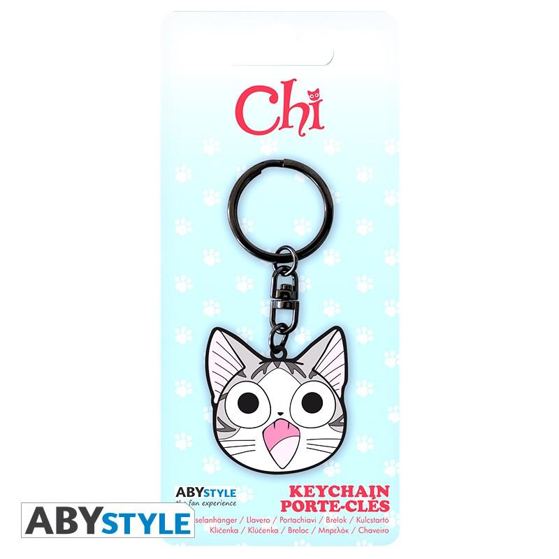 Chi Chi's Sweet Home Metal Keychain
