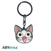 Chi Chi's Sweet Home Metal Keychain