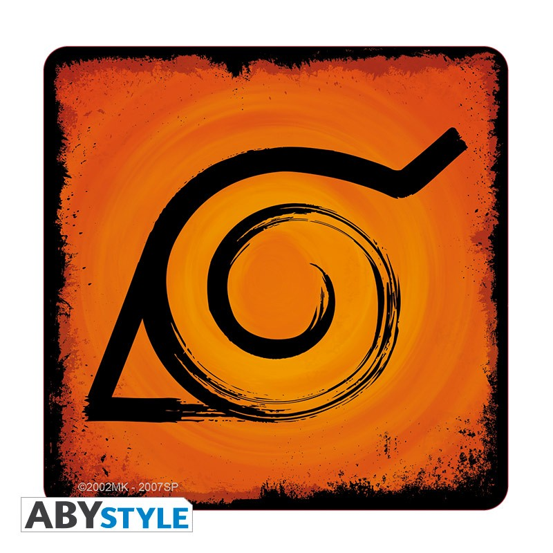 Naruto Symbols Naruto Shippuden Coaster Set