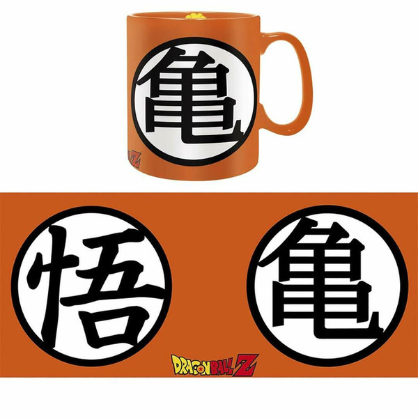 Goku Symbol Mug & Coaster Dragon Ball Z Gift Set