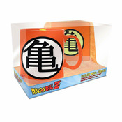 Goku Symbol Mug & Coaster Dragon Ball Z Gift Set