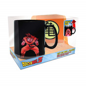 Goku Heat Changing Mug & Coaster Dragon Ball Z Gift Set