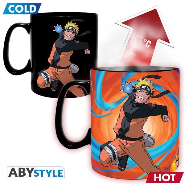 Naruto & Sasuke Heat Changing Mug Naruto Shippuden Gift Set