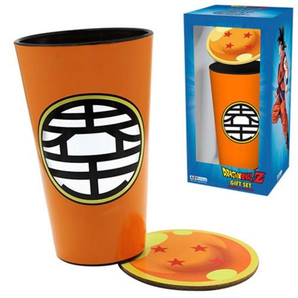 Glass & Coaster Dragon Ball Z Gift Set