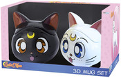 Luna & Artemis 3D Mug Sailor Moon Gift Set