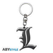 L Death Note 3D Keychain