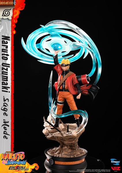 Naruto Uzumaki Sage Mode Ver Naruto Shippuden Epic Scale Statues Limited Edition Figure
