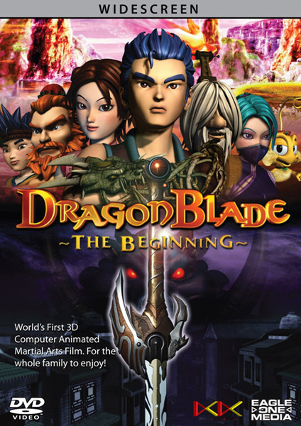 DragonBlade The Beginning DVD