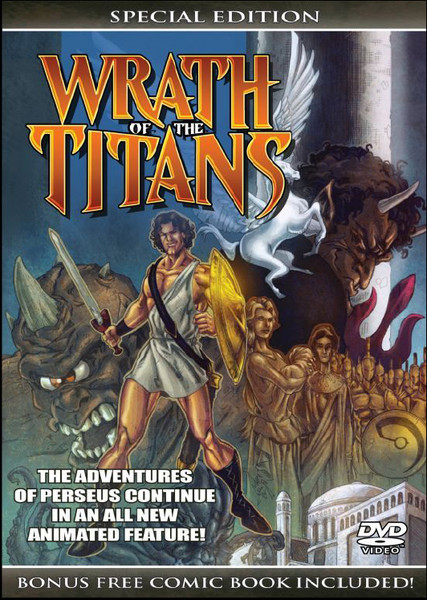 Wrath of the Titans Special Edition DVD