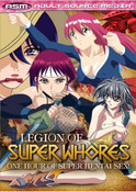 Legion of Super Whores DVD