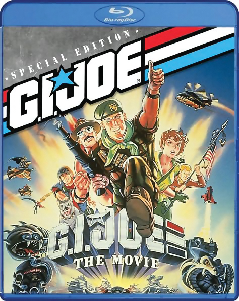 G.I. Joe: A Real American Hero: The Movie Blu-ray/DVD 826663118827