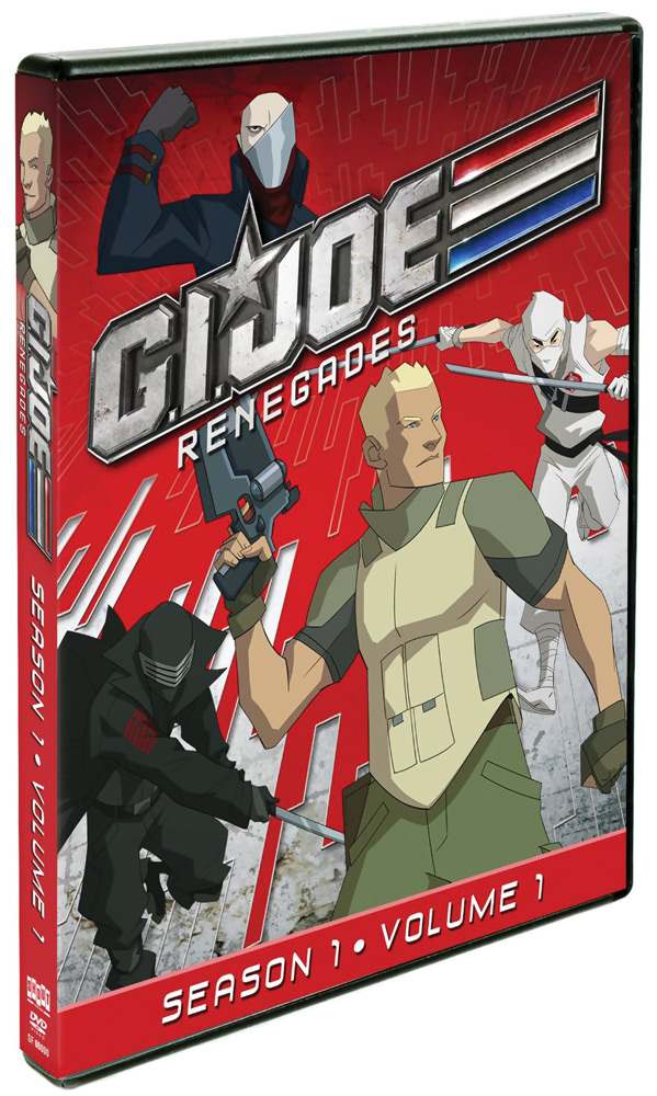 G.I. Joe: Renegades Season 1 DVD 1 826663132427