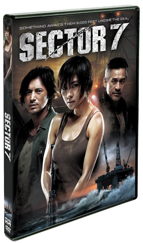 Sector 7 3-D DVD 826663132793