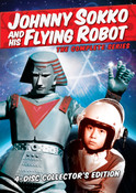 Johnny Sokko and His Flying Robot DVD