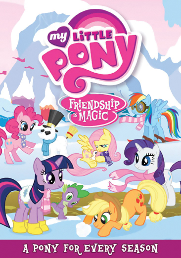 My Little Pony Friendship is Magic DVD 5 826663145199