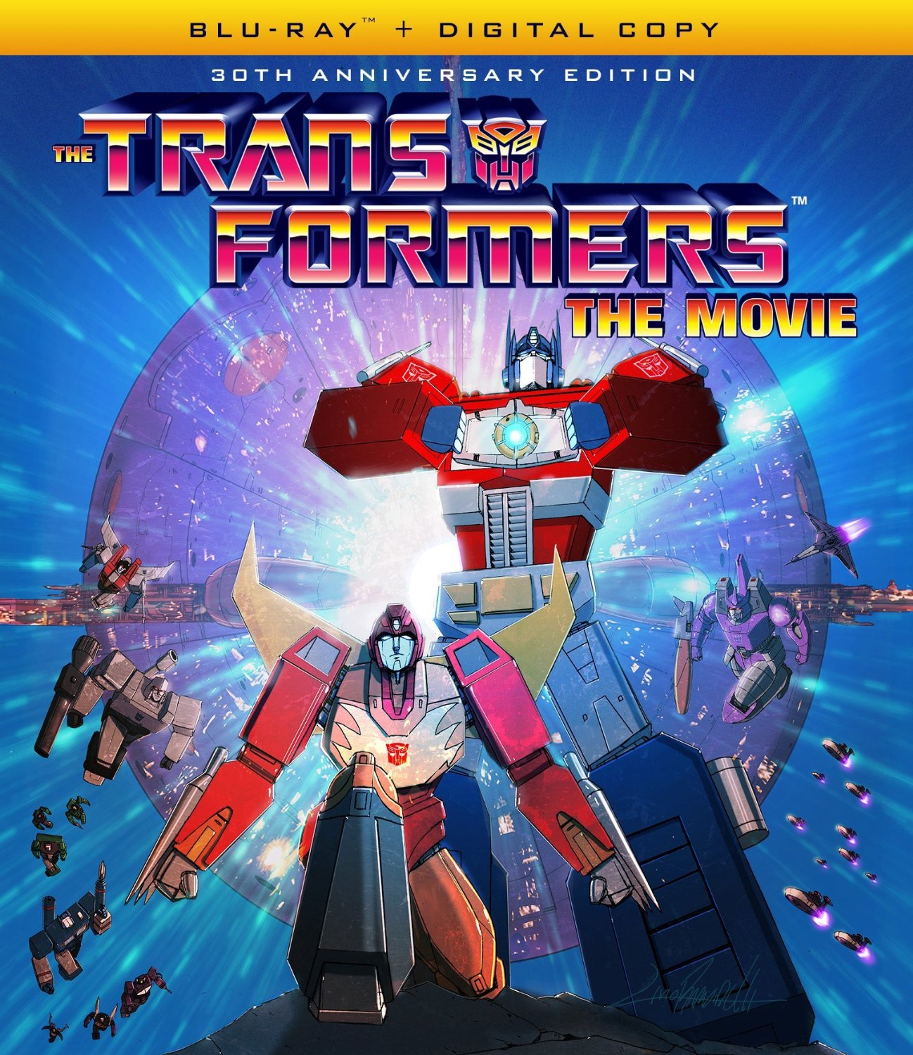 Transformers Movie 30th Anniversary Edition Blu-ray 826663169843