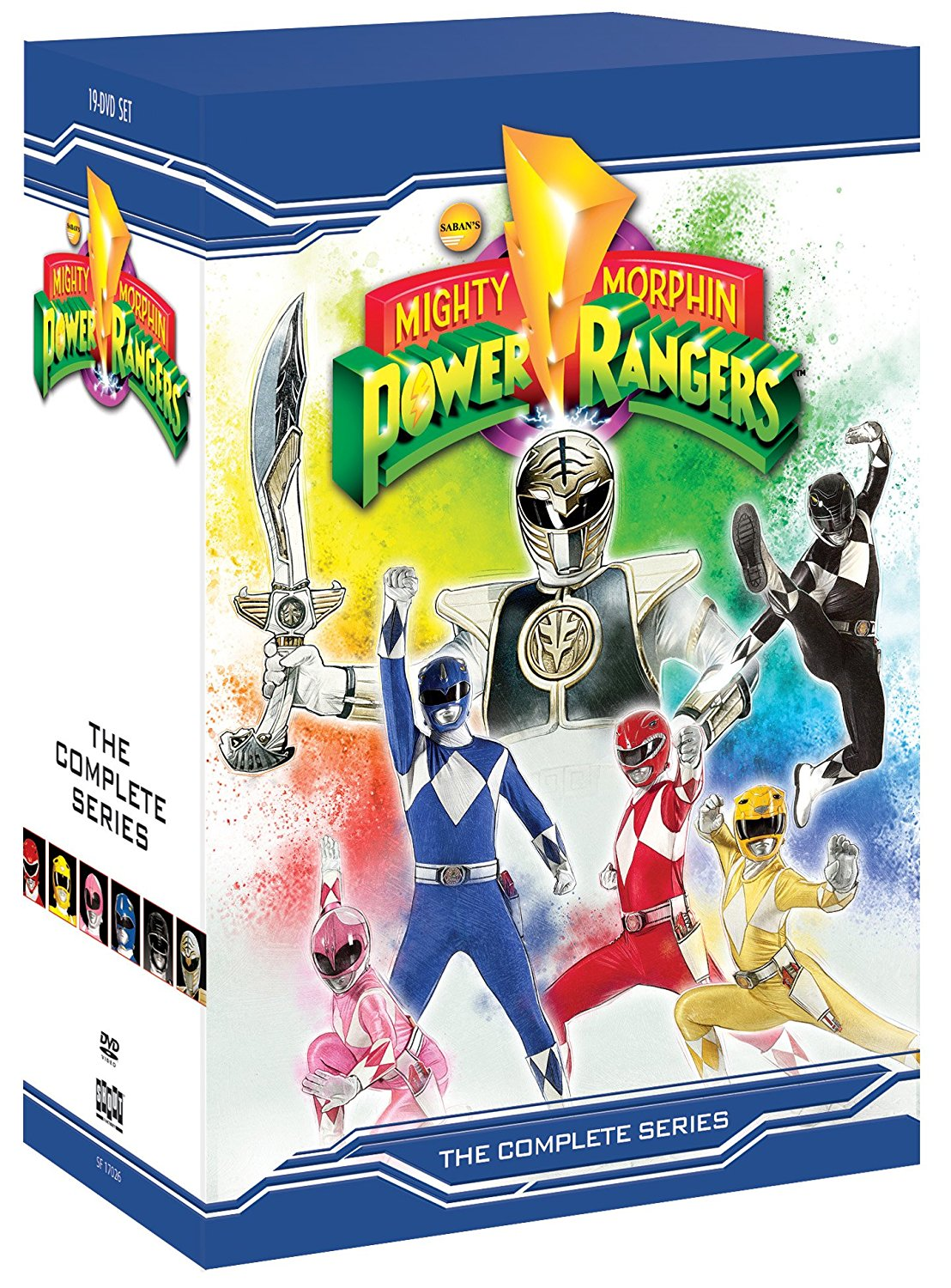 Mighty Morphin Power Rangers DVD 826663170269