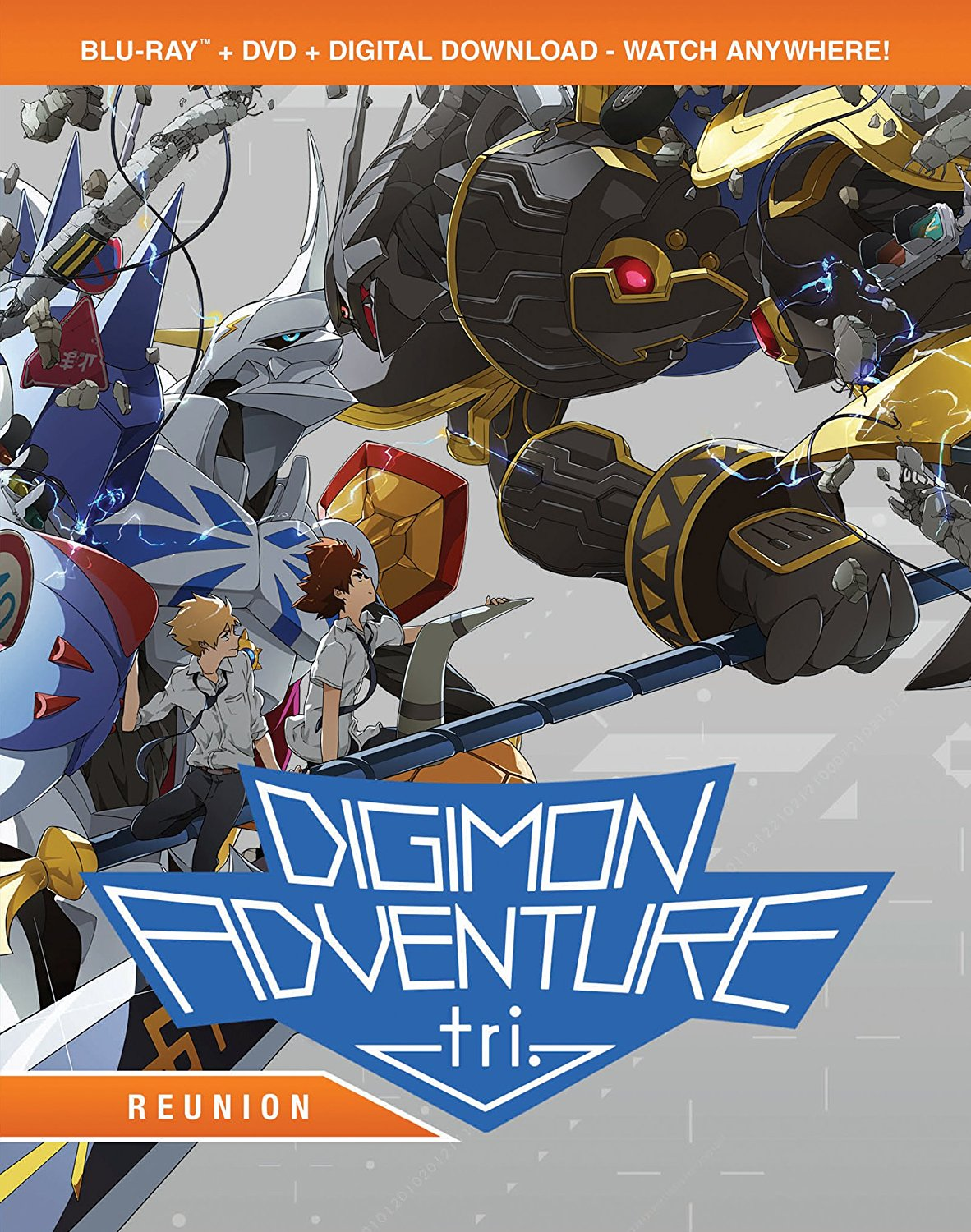 Digimon Adventure tri Reunion Blu-Ray/DVD 826663175950