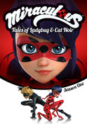 Miraculous Tales of Ladybug and Cat Noir Season 1 DVD