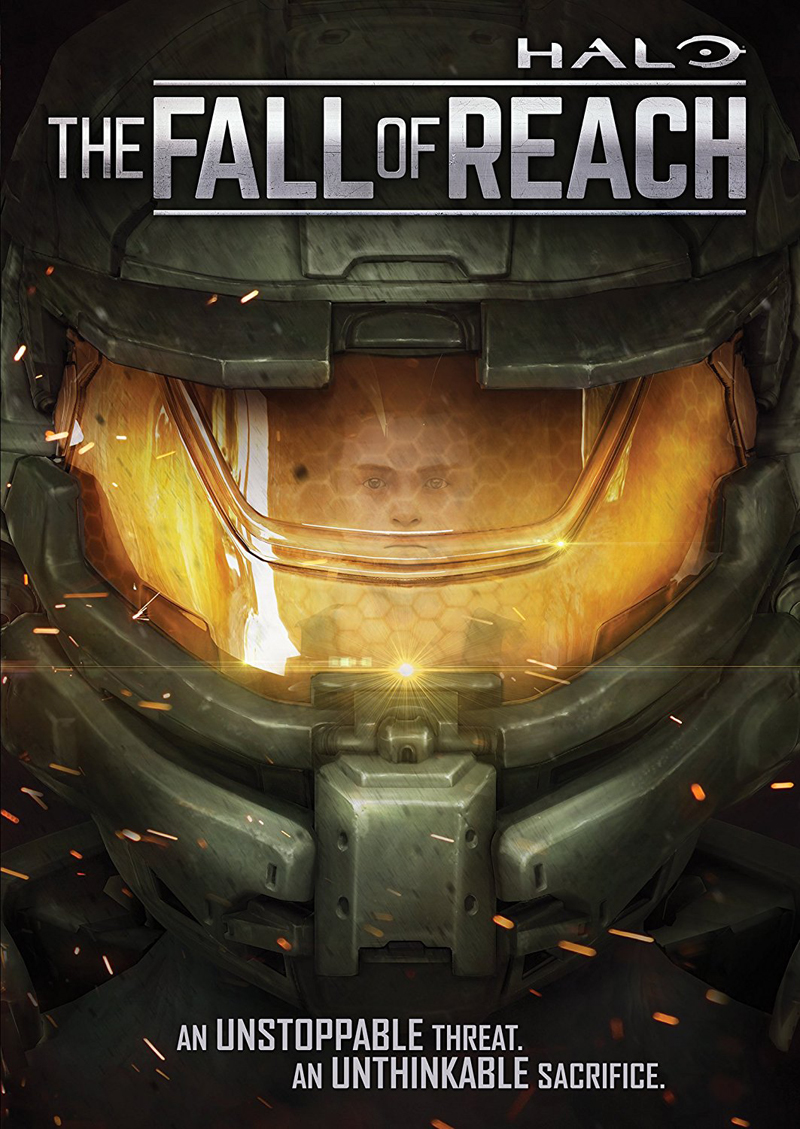 Halo The Fall of Reach DVD 826663180237