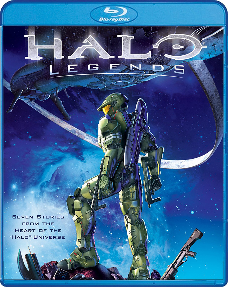 Halo Legends Blu-ray 826663180251