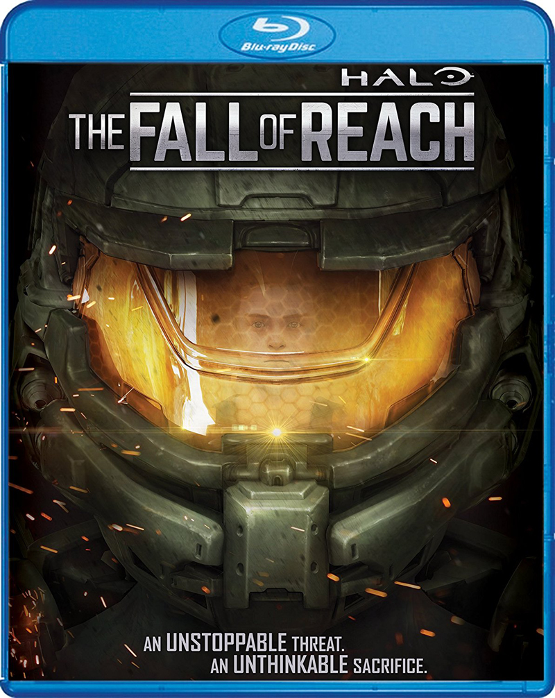 Halo The Fall of Reach Blu-ray 826663180282