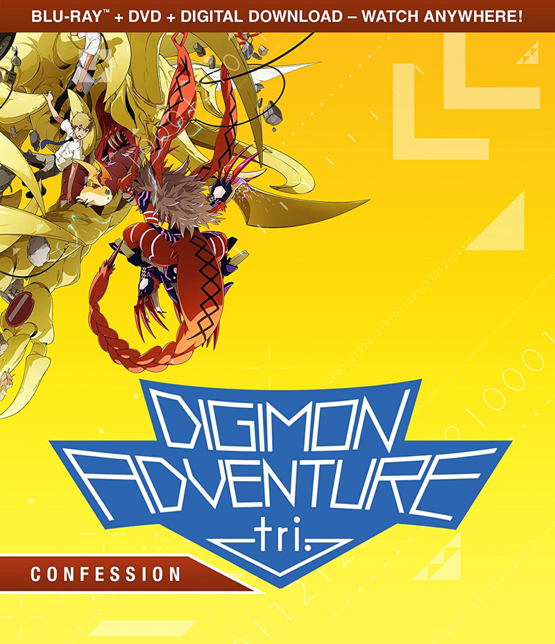 Digimon Adventure tri Confession Blu-ray/DVD 826663180572