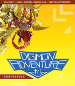 Digimon Adventure tri Confession Blu-ray/DVD