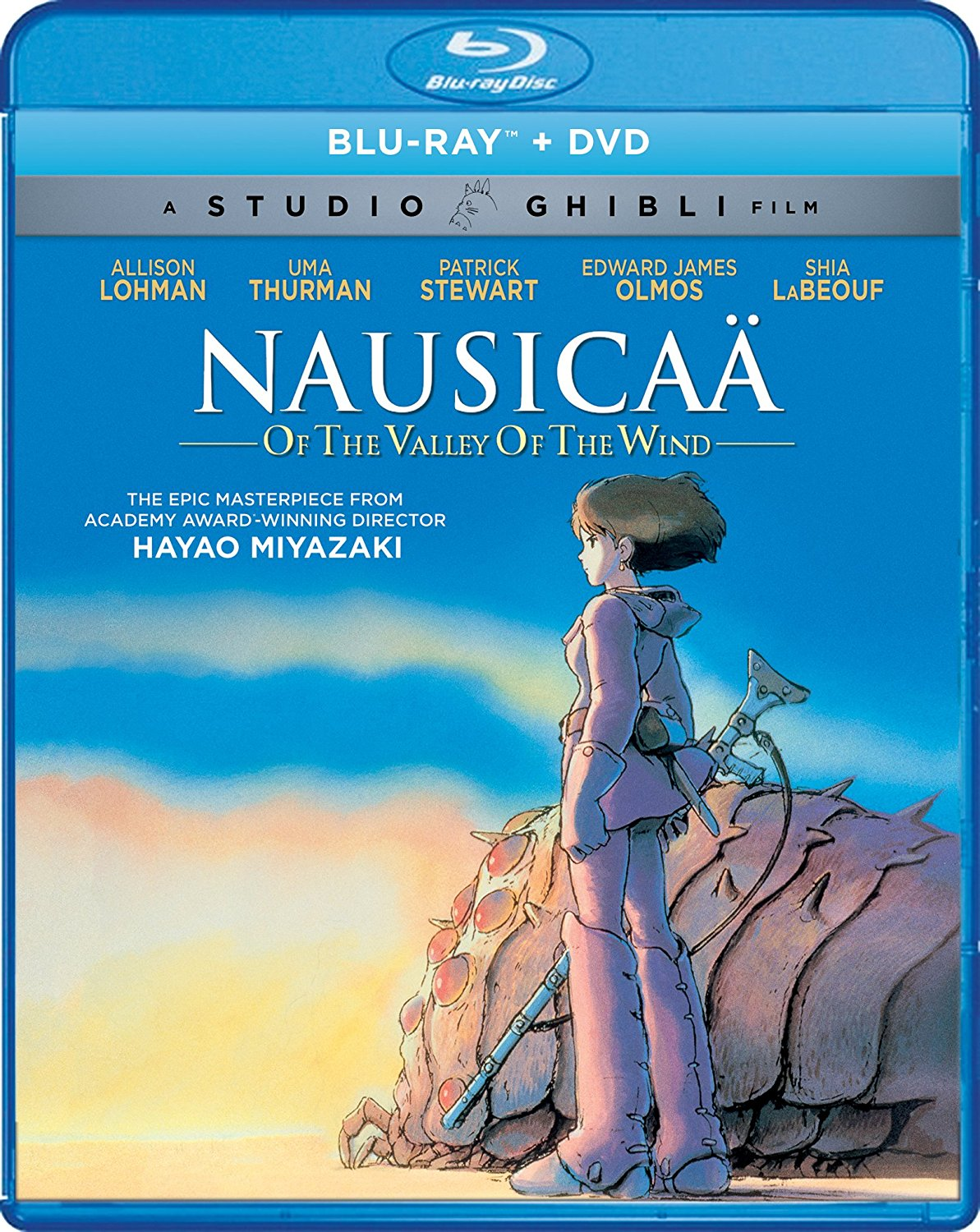 Nausicaa of the Valley of the Wind Blu-ray/DVD 826663181401