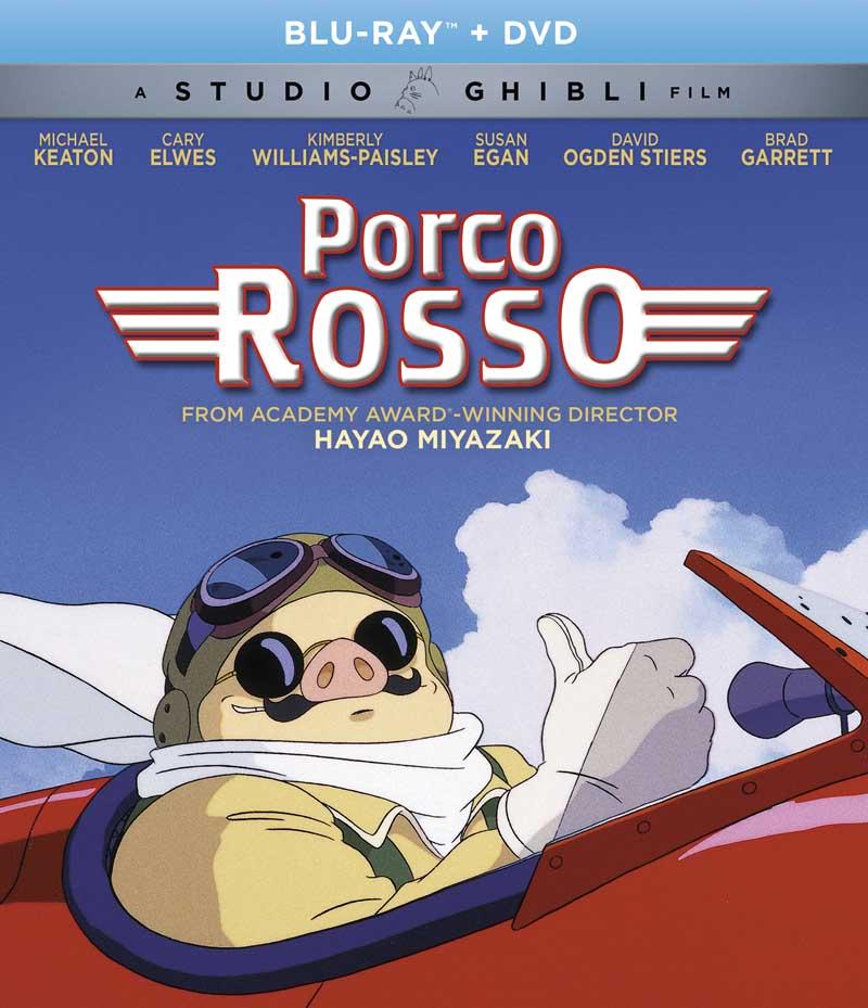 Porco Rosso Blu-ray/DVD 826663181487