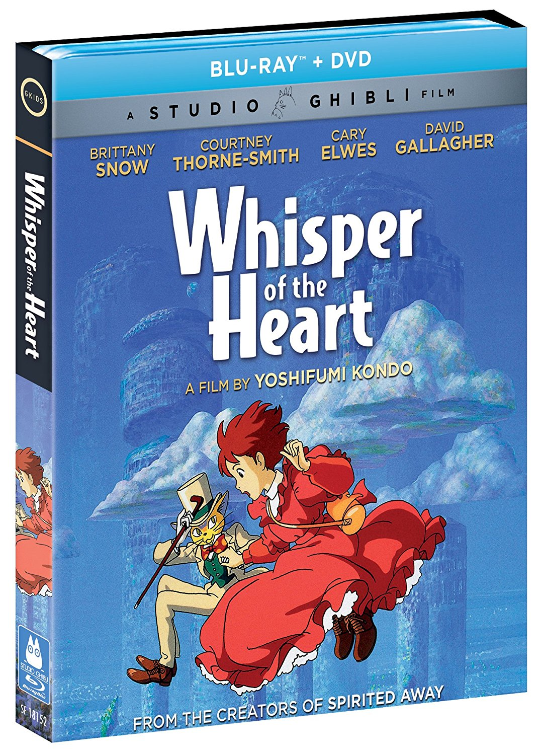 Whisper of the Heart Blu-ray/DVD