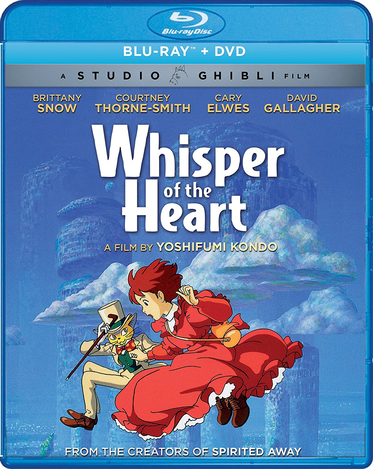 Whisper of the Heart Blu-ray/DVD 826663181524