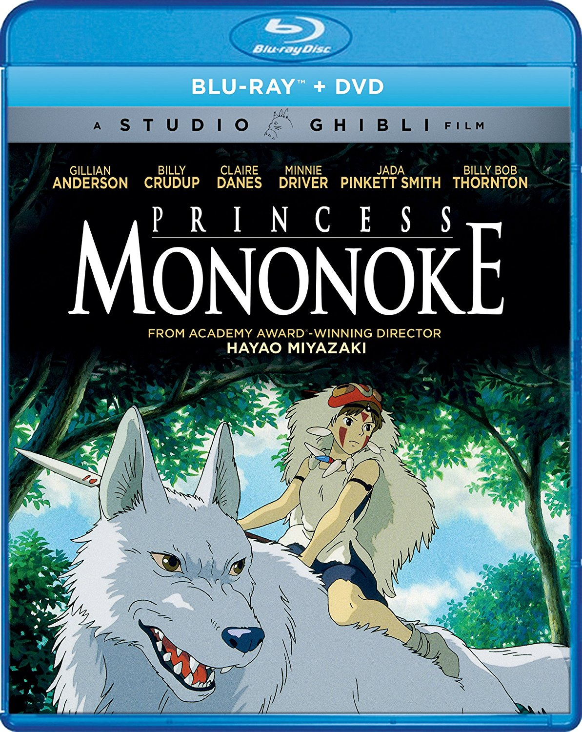 Princess Mononoke Blu-ray/DVD 826663181548