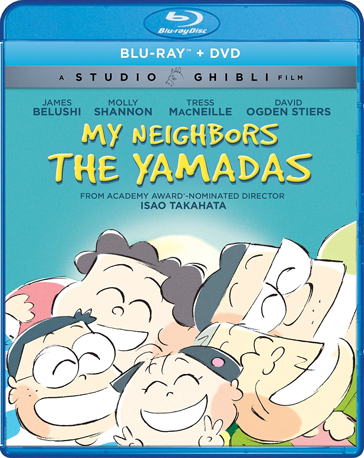My Neighbors the Yamadas Blu-ray/DVD 826663181562